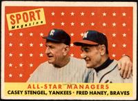 All-Star Managers (Casey Stengel, Fred Haney) [VGEX+]