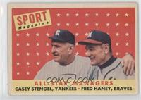 All-Star Managers (Casey Stengel, Fred Haney) [NoneGoodtoVG&#…