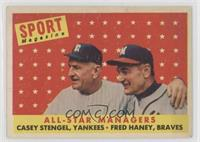All-Star Managers (Casey Stengel, Fred Haney) [Poor to Fair]