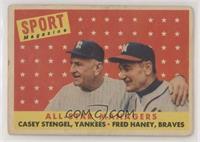All-Star Managers (Casey Stengel, Fred Haney) [PoortoFair]