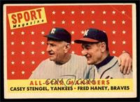All-Star Managers (Casey Stengel, Fred Haney) [GOOD]