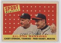 All-Star Managers (Casey Stengel, Fred Haney) [GoodtoVG‑EX]