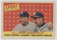 All-Star Managers (Casey Stengel, Fred Haney)