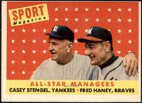 All-Star Managers (Casey Stengel, Fred Haney) [VG]