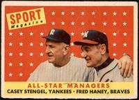 All-Star Managers (Casey Stengel, Fred Haney) [VG+]