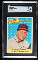 Sport Magazine '58 All Star Selection - Stan Musial [SGC 5 EX]