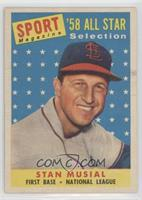 Sport Magazine '58 All Star Selection - Stan Musial