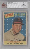 Stan Musial [BVG 3 VERY GOOD]
