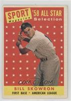 Sport Magazine '58 All Star Selection - Moose Skowron [Poor]