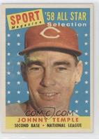 Sport Magazine '58 All Star Selection - Johnny Temple