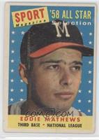 Sport Magazine '58 All Star Selection - Eddie Mathews [NoneGoodto&n…
