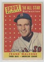 Sport Magazine '58 All Star Selection - Frank Malzone [Poor]