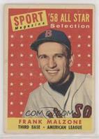 Sport Magazine '58 All Star Selection - Frank Malzone [GoodtoVGR…