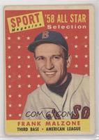 Sport Magazine '58 All Star Selection - Frank Malzone