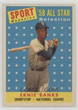 1958 Topps - [Base] #482 - Ernie Banks