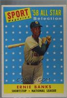 Sport Magazine '58 All Star Selection - Ernie Banks [Good to VG‑…