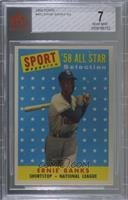 Sport Magazine '58 All Star Selection - Ernie Banks [BVG7NEAR…