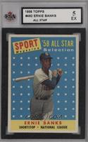 Sport Magazine '58 All Star Selection - Ernie Banks [KSA5EX]