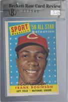 Sport Magazine '58 All Star Selection - Frank Robinson [BRCR5]