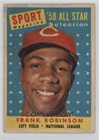 Sport Magazine '58 All Star Selection - Frank Robinson [GoodtoVG…