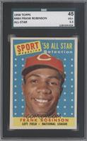 Sport Magazine '58 All Star Selection - Frank Robinson [SGC 45 VG+&nb…