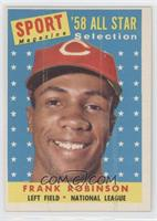 Sport Magazine '58 All Star Selection - Frank Robinson