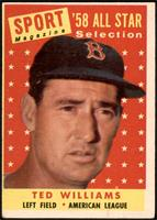 Sport Magazine '58 All Star Selection - Ted Williams [GOOD]