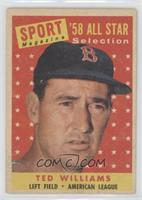 Sport Magazine '58 All Star Selection - Ted Williams [PoortoFair]
