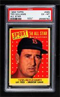 Sport Magazine '58 All Star Selection - Ted Williams [PSA6EX‑…