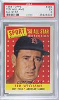Sport Magazine '58 All Star Selection - Ted Williams [PSA5EX]