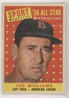 Sport Magazine '58 All Star Selection - Ted Williams
