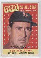Sport Magazine '58 All Star Selection - Ted Williams [NoneNoted]