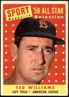 Sport Magazine '58 All Star Selection - Ted Williams [VGEX]