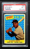 Sport Magazine '58 All Star Selection - Willie Mays [PSA 7 NM]