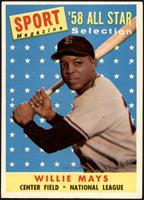 Sport Magazine '58 All Star Selection - Willie Mays [NM]