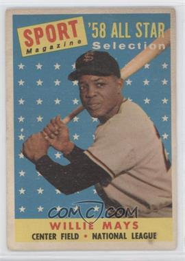 1958 Topps - [Base] #486 - Willie Mays