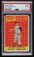 Sport Magazine '58 All Star Selection - Mickey Mantle [PSA2GOOD]