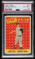 Sport Magazine '58 All Star Selection - Mickey Mantle [PSA6.5EXR…