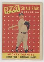 Sport Magazine '58 All Star Selection - Mickey Mantle [NoneGoodto&n…