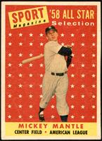 Sport Magazine '58 All Star Selection - Mickey Mantle [EX MT+]