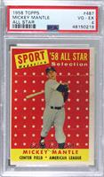 Sport Magazine '58 All Star Selection - Mickey Mantle [PSA4VG‑…