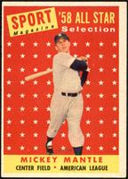 Sport Magazine '58 All Star Selection - Mickey Mantle [EX]