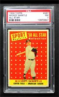 Sport Magazine '58 All Star Selection - Mickey Mantle [PSA 7 NM]