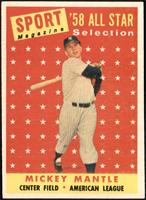 Sport Magazine '58 All Star Selection - Mickey Mantle [EX MT]