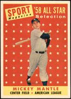 Sport Magazine '58 All Star Selection - Mickey Mantle [NM+]