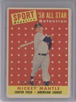 Sport Magazine '58 All Star Selection - Mickey Mantle [PoortoFair]