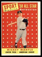 Sport Magazine '58 All Star Selection - Mickey Mantle [VG EX]