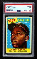 Sport Magazine '58 All Star Selection - Hank Aaron [PSA7NM]