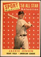Sport Magazine '58 All Star Selection - Jackie Jensen [EX]