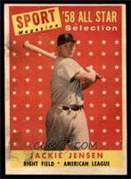 Sport Magazine '58 All Star Selection - Jackie Jensen [POOR]